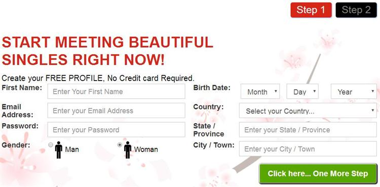 blossoms.com registration